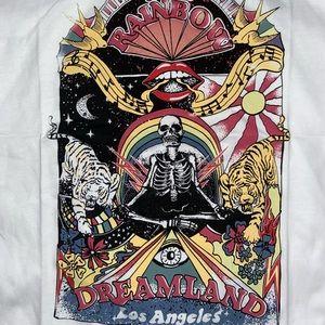 Boho Dreamland & Swallows Los Angeles Skeleton Tee